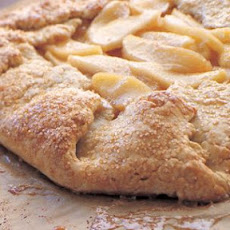 Apple Galette with Salted Caramel