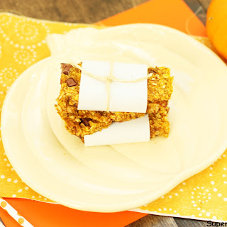 Chewy Baked Pumpkin Breakfast Bar
