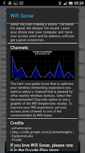 Wifi Sonar Screenshot