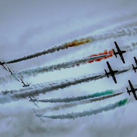 AirShow by Girolamo Cavalcante - Transportation Airplanes ( air force, airplanes, aircrafts, air show, airshow )