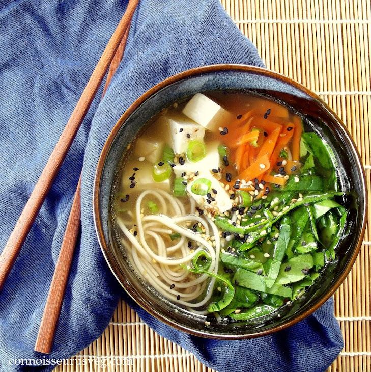Soba Miso Tofu Soup Recipe | Yummly