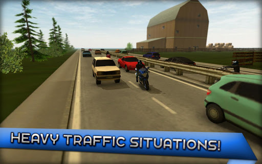 Motorcycle Driving 3D - screenshot