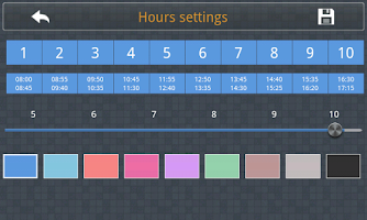 Screenshot of Quick TimeTable