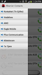 Albanian Contacts (AC) - screenshot