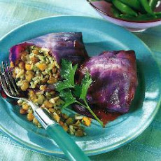 Spicy Red Cabbage Parcels
