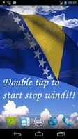 Screenshot of 3D Bosnia Flag Live Wallpaper