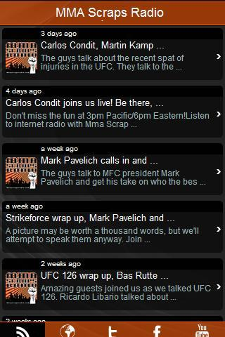 MMAWeekly Radio Weekend