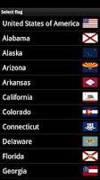 Screenshot of USA Flags Widget
