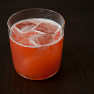 Strawberry Rosé Spritzer
