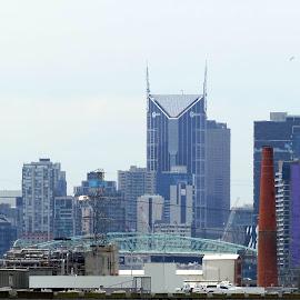 Melbourne City by Jefferson Welsh - City,  Street & Park  Skylines