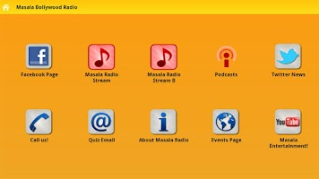 Screenshot of Masala Radio Houston