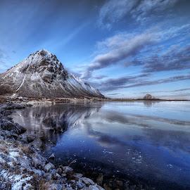 Winter in Lofoten. by John Aavitsland - Landscapes Mountains & Hills