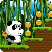 Jungle Panda Run APK for Bluestacks