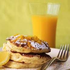 Cottage Cheese Pancakes with Lemon