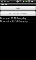 Screenshot of Time Out