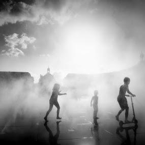 Bordeaux by David Monjou - City,  Street & Park  Street Scenes