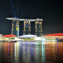 Marina Bay Sands  by Adi Zhuo - City,  Street & Park  Markets & Shops