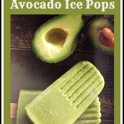 Avocado Ice Pop #Recipe