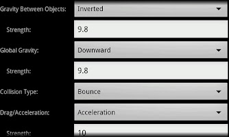 Screenshot of Physics Sketchpad Beta