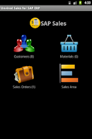 Screenshot of Unvired Sales for SAP