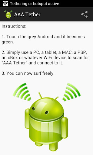 AAA Tether Free No Root