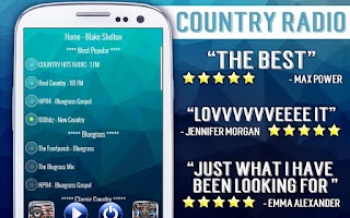 Screenshot of Free Country Radio