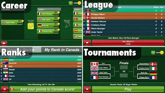 Tennis Champion 3D- screenshot thumbnail