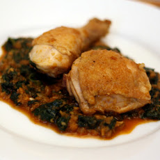 Dinner Tonight: Chicken with Spinach