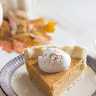 Classic Pumpkin Pie with Pie Crust Tutorial
