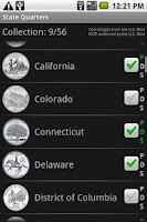 Screenshot of State Quarters