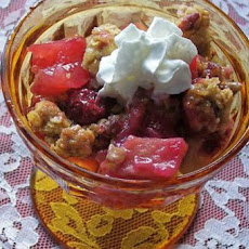 Cranberry Apple Casserole/Crisp