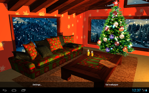 3D Christmas Fireplace HD Full v1.30 APK