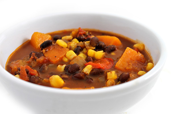 Roasted Hatch Chile Stew Recipe With Sweet Potato, Corn ...