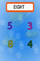 Screenshot of LilQuiz:Numbers