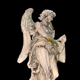 Gabriel Archangel in Rome by Andrea Riccobene - Buildings & Architecture Statues & Monuments (  )