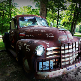 bill monroe truck by Jessica Troxal - Transportation Automobiles