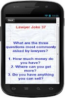 Screenshot of 101 + Funniest Lawyer Jokes
