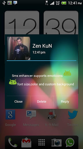 sms-enhancer for android screenshot
