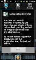 Screenshot of Samsung Log Converter