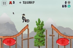 Screenshot of Stickman BMX