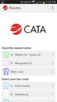 Screenshot of CATA