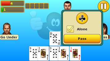 Screenshot of Euchre