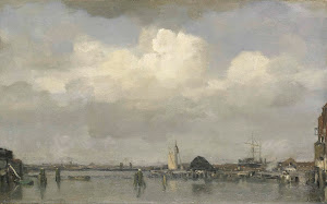 RIJKS: Jacob Maris: painting 1890