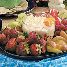 Orange-Ginger Fruit Dip