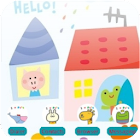 Hello P714 [SQTheme] for ADW icon