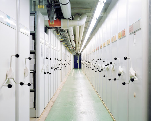 CERN – Geneva  Paper archives. Only 5% of the data produced by the CERN are transcribed on paper nowadays