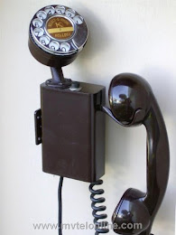 Wall Phones - Kellogg Select O Phone Brown 1