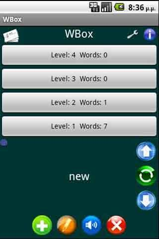 WBox foreign vocabulary