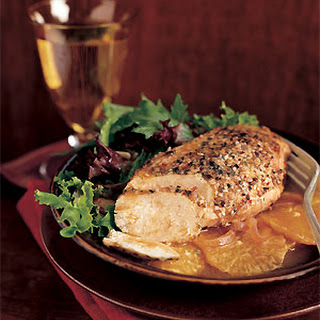 Spiced Chicken with Oranges