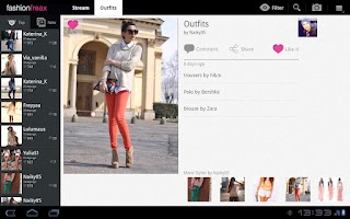 Screenshot of Fashion Freax for Tablets